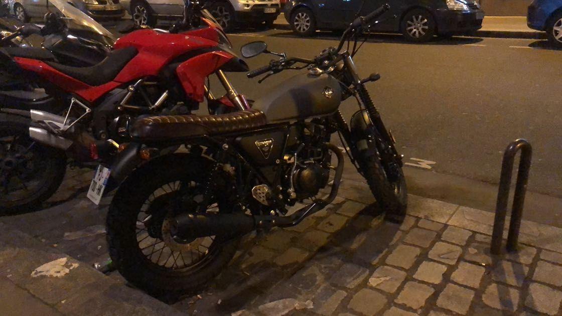 ARCHIVE Scrambler 125cc